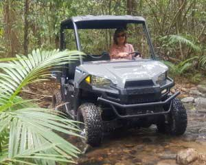 UTV Night Adventure walks in Cape Tribulation