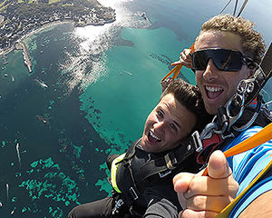 14,000ft Tandem Skydive Over Rottnest Island with Ferry Pass