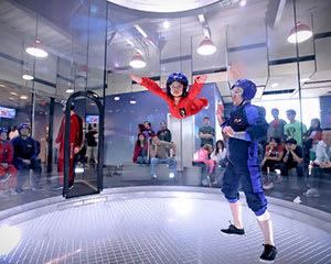 iFLY Brisbane Indoor Skydiving Family & Friends - 10 flights - Midweek