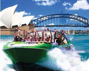 Jet Boat Circular Quay Sydney 30 Mins Weekday Offer