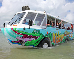 Aquaduck Amphibious Tour, 1 Hour - Airlie Beach