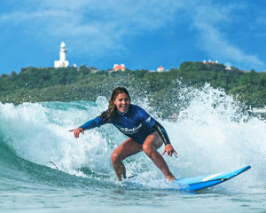 Learn to Surf Group Surfing Lesson, 2 Hours - Byron Bay