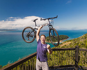 Guided Electric Mountain Bike & Two Island Experience, Whitsunday Coast