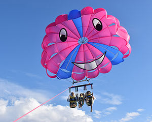 Gold Coast Parasail - Triple