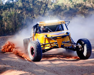 Off Road V8 Race Buggies, 10 Lap Drive AND 2 Hot Laps - Colo Heights, Sydney - BONUS LAPS