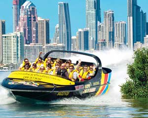 Express Jet Boat Ride and Helicopter Combo