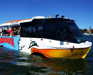City Tour and River Cruise in an Amphibious Vehicle - Surfers Paradise - for 2