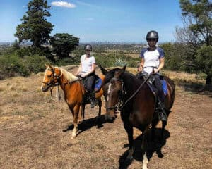 Scenic Horse Riding Tour with Lunch, 2.5 Hours - Melbourne - For 2