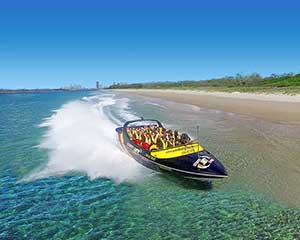 Express Jet Boat Ride on the Gold Coast