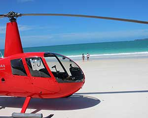 Helicopter Flight with Beach Visit, 2 Hours - Whitsundays, For 2