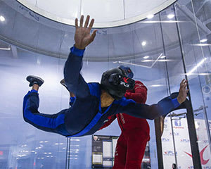 Virtual Reality Indoor Skydive - 3 Flights - Brisbane - Midweek