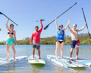 Stand Up Paddle Board Aboriginal Cultural Tour - Coffs Harbour