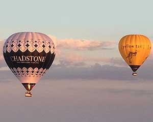 Hot Air Balloon Flight Over Geelong