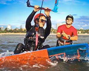 St Kilda Kiteboarding Private Tuition, 2 Hours For 2 - Melbourne