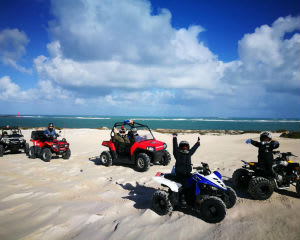 UTV Buggy Tour and Sandboarding For 2 - Lancelin