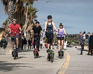 ElliptiGO Bike Scenic Bay Ride Tour, 90 Minutes - Melbourne