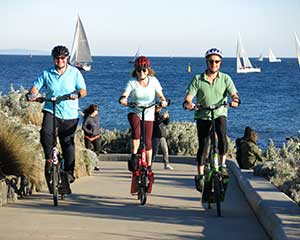 ElliptiGO Bike Scenic Bay Ride Tour, 2.5 Hours - Melbourne