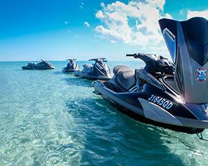 Guided Jet Ski Tour, 4 hours - Fraser Island