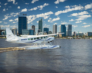 Scenic Seaplane Flight, One Way - Margaret River to Swan River