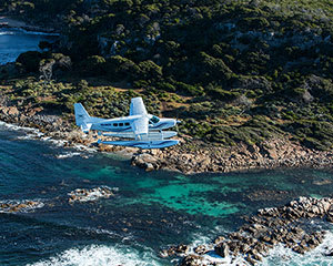 Scenic Seaplane Flight, Return - Swan River to Rottnest Island
