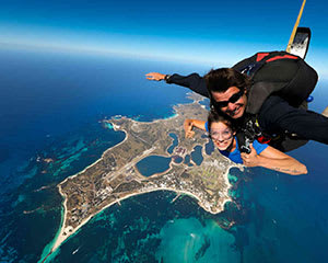 Tandem Skydive Over Rottnest Island, 15,000ft - Perth
