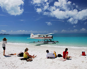 Seaplane Scenic Flight and Whitehaven Beach 1 Hour Visit - Whitsundays