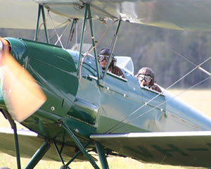 Sunrise Tiger Moth Scenic Flight, 15 Minutes - Hunter Valley