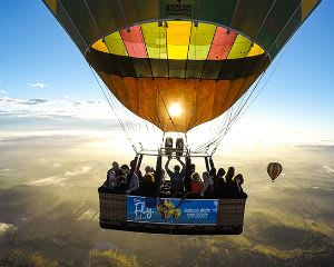 Hot Air Balloon Flight with Winery Breakfast - Hunter Valley