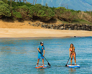 Stand Up Paddle Board Lesson, 1 Hour, For 2 - Sunshine Coast