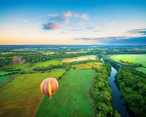 Hot Air Balloon and Gourmet Breakfast - Sydney Macarthur Region