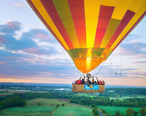 Hot Air Balloon and Champagne with Buffet Breakfast from A La Carte, For 2 - Sydney Macarthur Region
