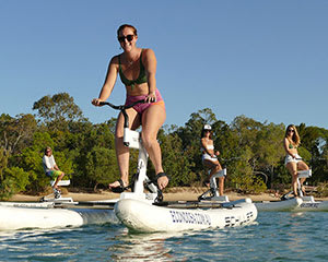 Water Bike Self-Guided Tour, 2 Hours - Noosa