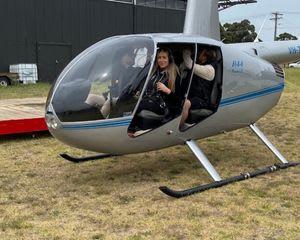 Helicopter Open Doors Scenic Flight – 35 minutes – Melbourne
