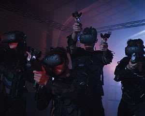 Free Roam Multiplayer Virtual Reality, For 4 People - Sydney