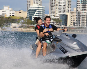 Jet Ski Hire, 60 Minute Circuit for up to 2 - Gold Coast