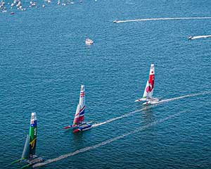 Sydney SailGP 2020 Race Spectator Boat, 2 Day Pass - Sydney