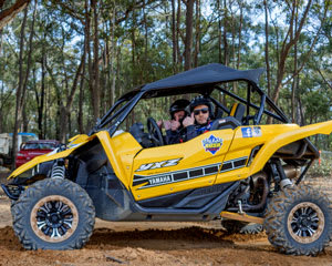 Yamaha YXZ Race Buggy, 12 Lap Drive and 1 Hot Lap - Mannum, Adelaide
