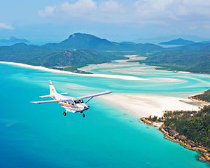 Scenic Flight and Tall Ship Sailing - Whitsundays, Departs Airlie Beach
