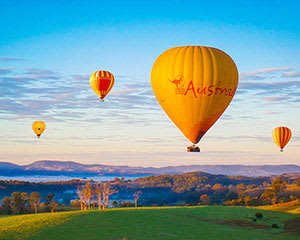 Hot Air Balloon Ride with Champagne Breakfast, 30 Minutes - Gold Coast