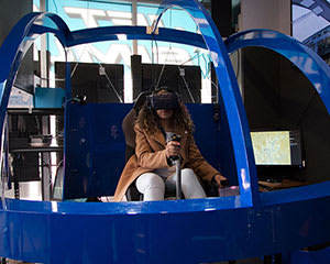 Full Motion VR Helicopter Simulator, 30 Minutes - Melbourne