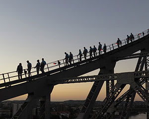 Story Bridge Climb, Twilight, with Walk The Plank - Brisbane