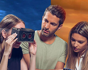 2 Home Delivered Virtual Reality Escape Room Games - Australia Wide