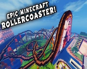 Kids Online Minecraft Roller Coaster Engineers Lesson, 1.5 Hour - For 2