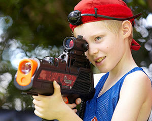 Home Delivered Laser Tag in a Box - Canberra - For 4