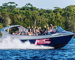 Jet Boat Thrill Ride, 25 Minutes - Central Coast