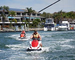 Jet Ski Tour, 90 Minutes - Bribie Island, Brisbane