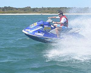 Jet Ski Tour, 1 Hour - Bribie Island, Brisbane