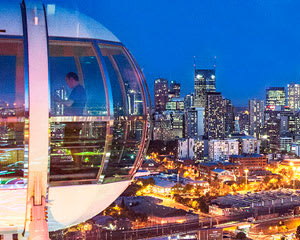 Melbourne Star Observation Wheel Admission - Welcome Back Deal
