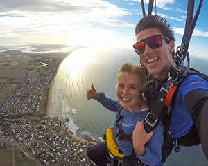 Tandem Skydive, 15,000ft - Basham Beach, South Australia