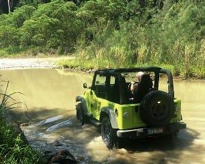 4WD Jeep Hire, Full Day – Sunshine Coast
